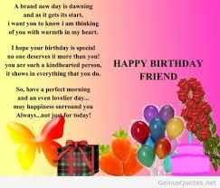 Inspirational Birthday Quotes For Friends. QuotesGram via Relatably.com