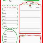 Christmas List Template Black And White Free Excel Wish Printable