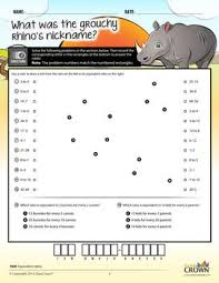 Ratios Worksheets, Percents Worksheets - Math Riddles - 4Th–7Th ...
