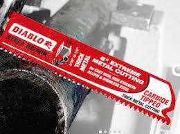 carbide sawzall blades. diablo blades rock! carbide sawzall
