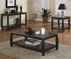 Dark Storage Table For Living Room