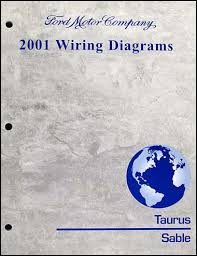 ford taurus mercury sable wiring diagram manual original