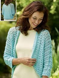 Free Shrug Knitting Patterns Beauteous Free Bolero Knitting Patterns