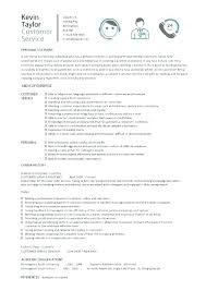 Customer Service Skills For Resume Gorgeous Good Customer Service Skills Examples Resume Of Resumes For