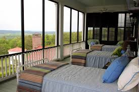sleeping porch furniture. images sleeping porches the screenedin porch overlooks arkansas river val furniture n