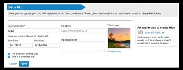 Another Word For Itinerary Is Edit Trip Itinerary On Our Website Tripit Help Center