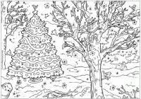 Christmas Coloring Pages For Adults Printable Printable Educations