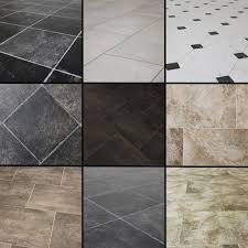 Non Slip Vinyl Flooring Kitchen Similiar Black White Grey Vinyl Tile Keywords