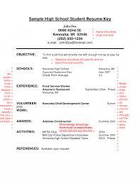 Objective For Graduate School Resume High Schoolesume Objective Examples Student Statement Graduate 16