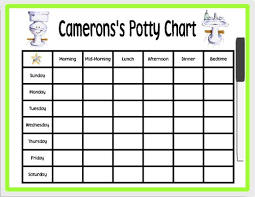 How To Make A Potty Training Chart Potty Training Chart Have To Pay For This One But I Could