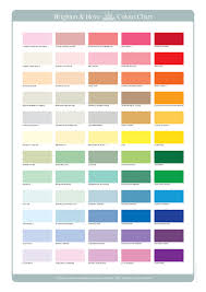 Colour Chart Brighton And Hove Colour Chart By J David Bennett
