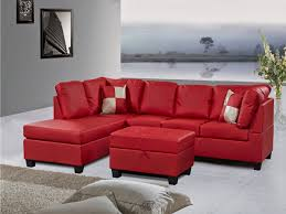 bedroom leather sectional couch brown sofas white regarding red sofa design 13 glamorous 9 home red sectional sofa alluring leather