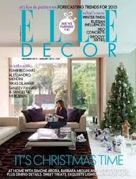 Small Picture Elle Decor India Magazine December January 2015 issue Get your