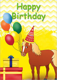 free childrens birthday cards printable kids birthday cards