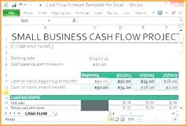 Cash Flow Excel Template Rolling Forecast Excel Template