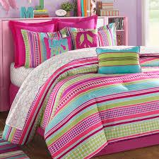 Pink And Purple Girls Bedroom Girls Comforters And Bedspreads Stipple Teen Bedding Pink Aqua