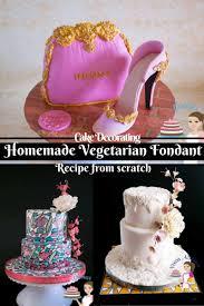Homemade Vegetarian Fondant Recipe From Scratch Vegan Parve