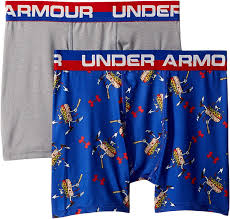 Under Armour Boxer Size Chart Amazon Com Under Armour Kids Boys 2 Pack Homerun Hotdog