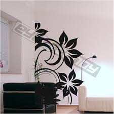 Small Picture Wall Art Ideas Black White Wall Flower Art Design Home