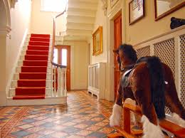 coach house interiors. decorated hall and stairs coach house interiors