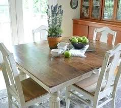 chalk paint grandma s antique dining table and chairs painted furniture room set ideas distressed