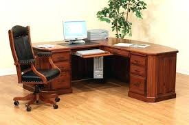 corner office desk wood. Small Wooden Desk Black Chair Corner Office With And Drawers Wood Oskaryildiz.me