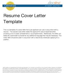 Cover Letter Resume Email Sample Of Cover Letter For Resume Via Email Adriangatton 19