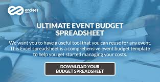 Sample Event Budget Cool How To Create Your Event Budget Endless Events
