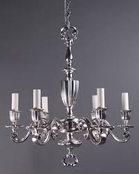 silver chandelier marie therese chandelier  light dual mount