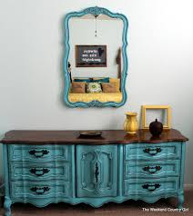 Turquoise bedroom furniture Turquoise Pink French Provincial And Wood The Weekend Country Girl Turquoise French Provincial Furniture The Weekend Country Girl