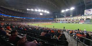 Minute Maid Park Section 131 Houston Astros