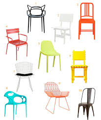 modern outdoor dining furniture. 10 Colorful, Modern Outdoor Dining Chairs Furniture E