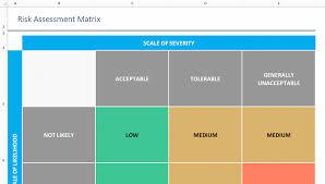 Matrix Color Chart Online Risk Assessment Matrix Template Download Now Teamgantt