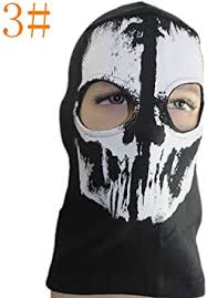 Aardich <b>1pc Cycling</b> Mask <b>Breathable</b> Windproof Skull <b>Cycling</b> Full ...