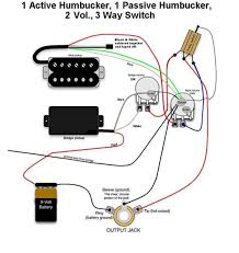 active humbucker wiring diagram active image wiring diagram for emg active pickups wiring diagram schematics on active humbucker wiring diagram