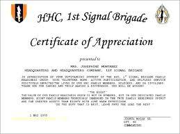 Free Appreciation Certificates 8 Free Printable Certificates Of Appreciation Templates