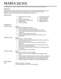 resume template uk