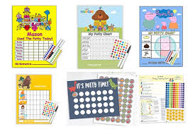 How To Make A Reward Chart For Potty Training 10 Of The Best Potty Training Sticker Charts Madeformums