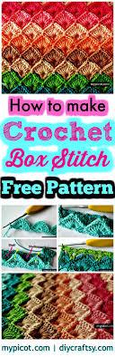 Crochet Box Stitch Pattern Amazing Design
