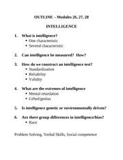 ap psychology course hero 17 pages psych 100 intelligence mod 26 27 28