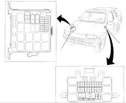 isuzu rodeo ls defrost a fuse and where is the fuse box location graphic