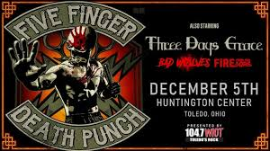 Huntington Center Seating Chart For Monster Jam Five Finger Death Punch Dec 5th At 6 30 Pm Huntington