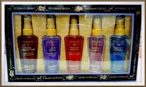 victoria s secret fragrance body mist gift set 5x60ml us exclusive