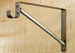 closet rod bracket installation