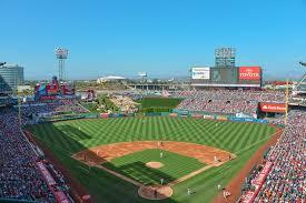 Edison Field Seating Chart Angel Stadium Los Angeles Angels Ballpark Ballparks Of