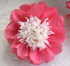 tissue paper flower centerpiece ideas blue flower clipart paper flower