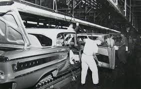 1958 Citation Assembly Interior Cars Trucks Edsel Ford Cars