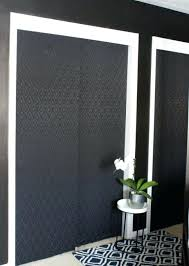 painted closet door ideas. Closet Door Ideas For Large Openings Closets White Foyer Doors Fascinating Painted H