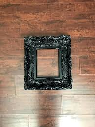 black frame baroque wedding frames wall picture art cottage chic photo from on studio 8x10 white