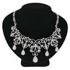 awesome design ideas chandelier necklace designer las diamond necklaces by luccello
